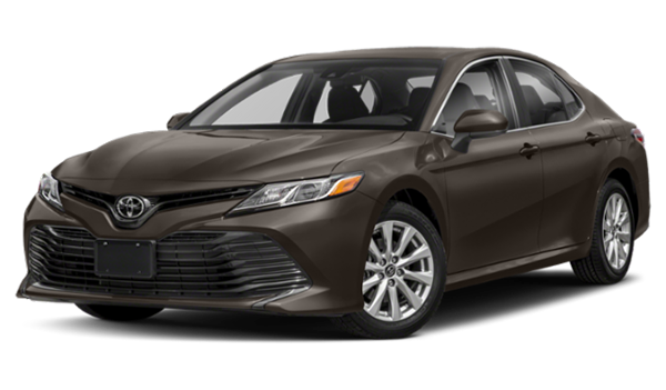 2019 Toyota Camry facing left