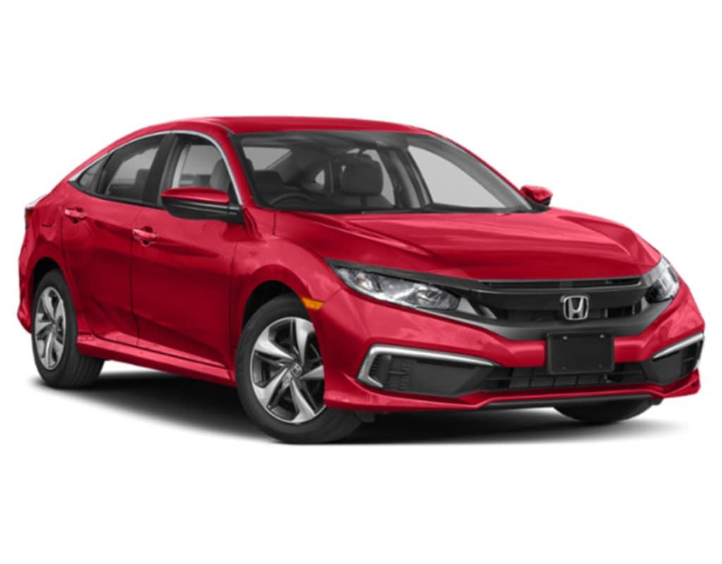 New 2019 Honda Civic LX FWD 4 door  Sedan Automatic Transmission