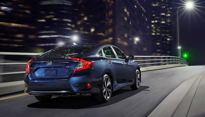 2019 Honda Civic Driving on Road