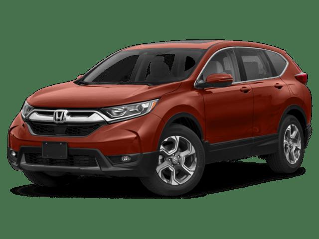 2019 Honda CR-V in red