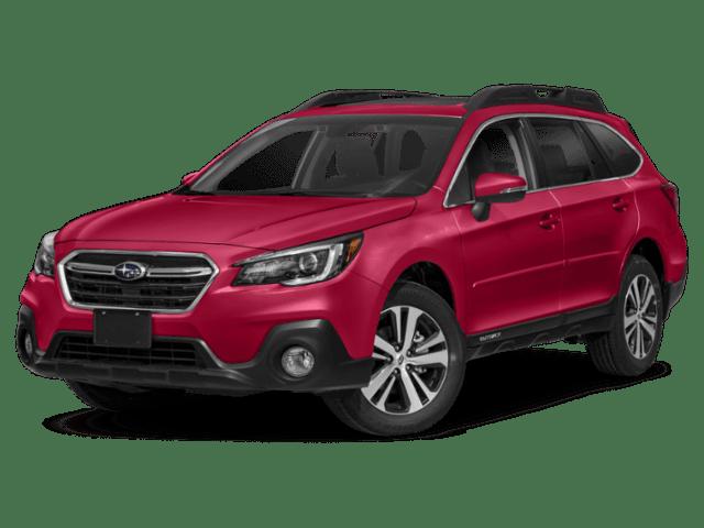 2019 Subaru Outback in red