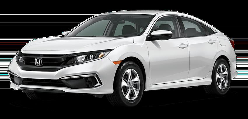 2020 Honda Civic White large