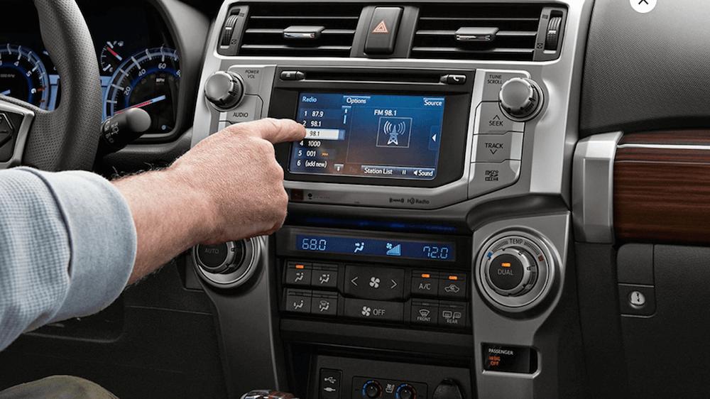 2019 Toyota 4Runner interior dashboard