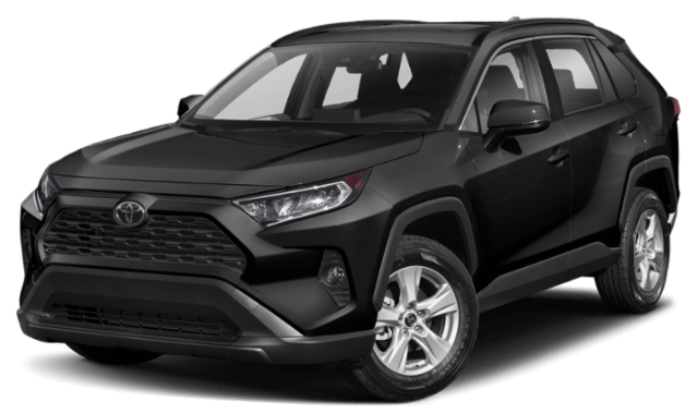 2019 Toyota RAV4 black SUV