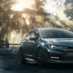 2020 Corolla in nature scene
