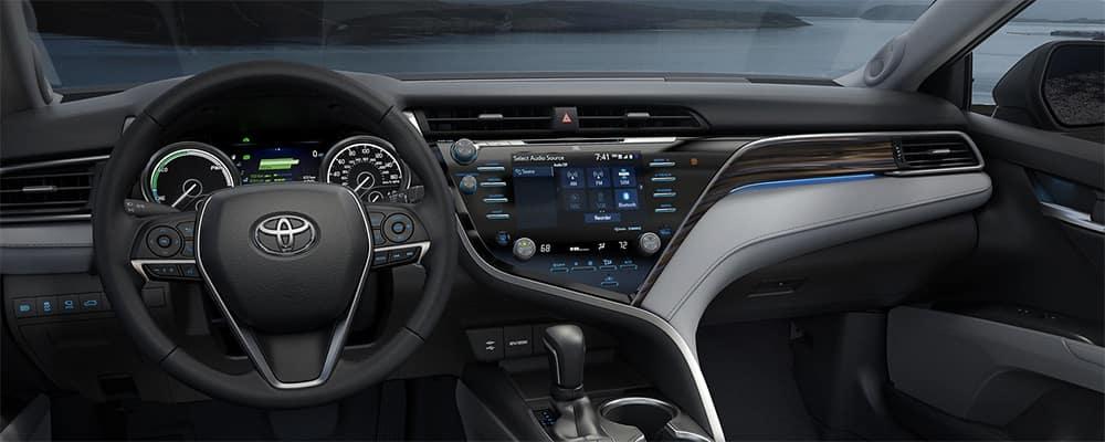 2019 Toyota Camry interior dashboard