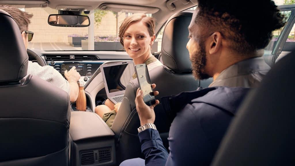 2019 Toyota Camry passengers