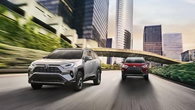 2019 Toyota RAV4 driver assist technology