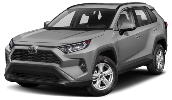 Silver 2019 Toyota RAV4