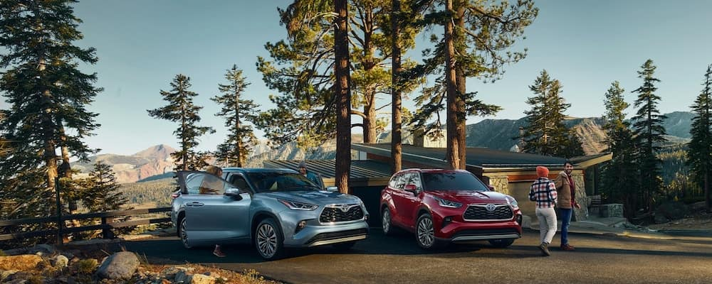 2020 Toyota Highlander Trims