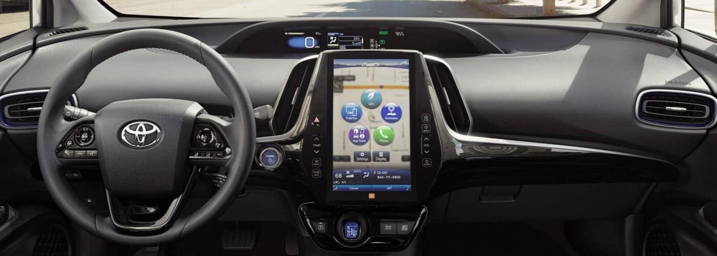 2020 Toyota Prius Dash