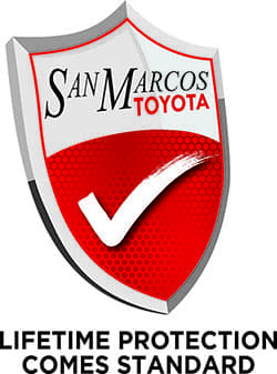 San Marcos Toyota Lifetime Warranty Shield