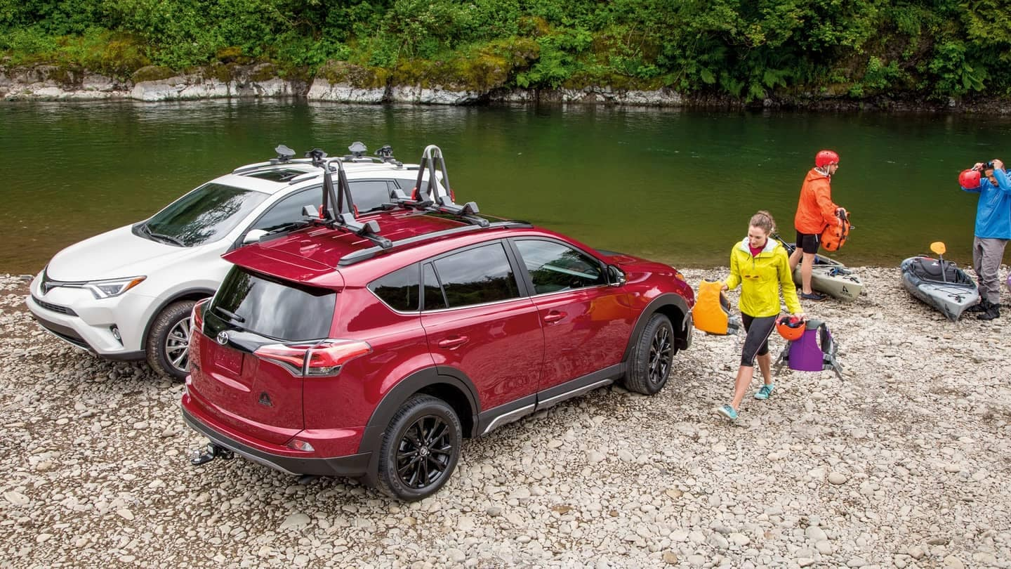 2018 Toyota RAV4 Parked by River