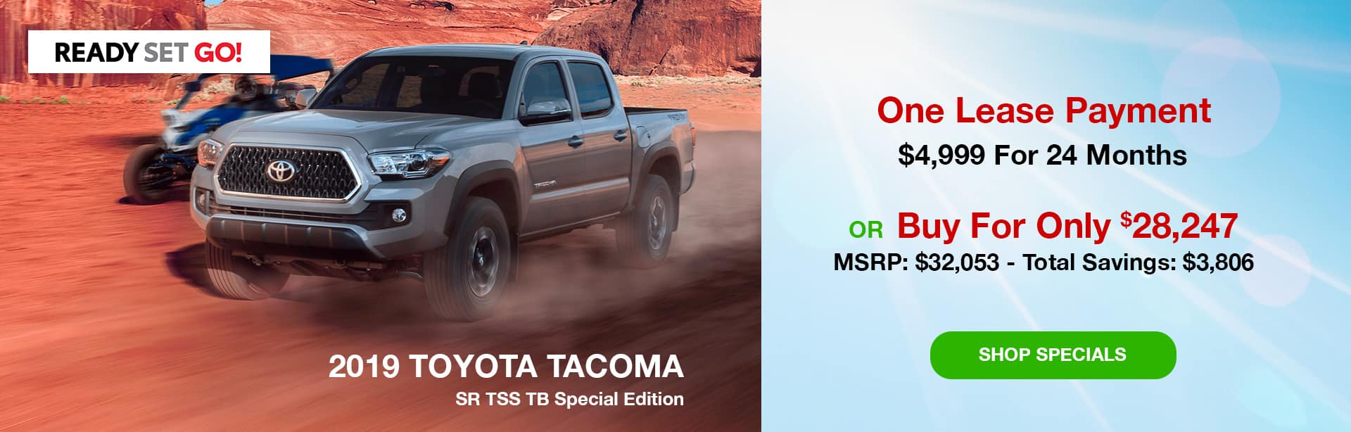 2019 Toyota Tacoma SR TSS Special Edition