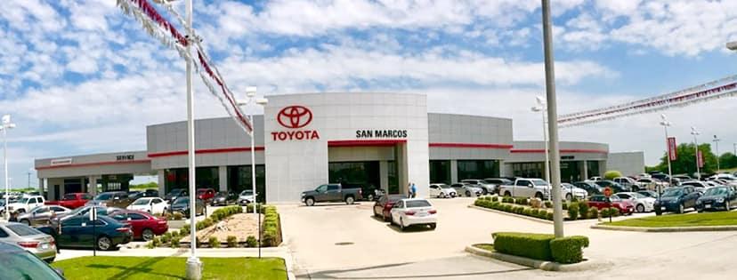 San Marcos Toyota - 5101 IH 35 South - San Marcos, Tx 78666