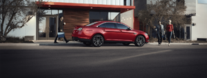 2018_Ford_Taurus-Red