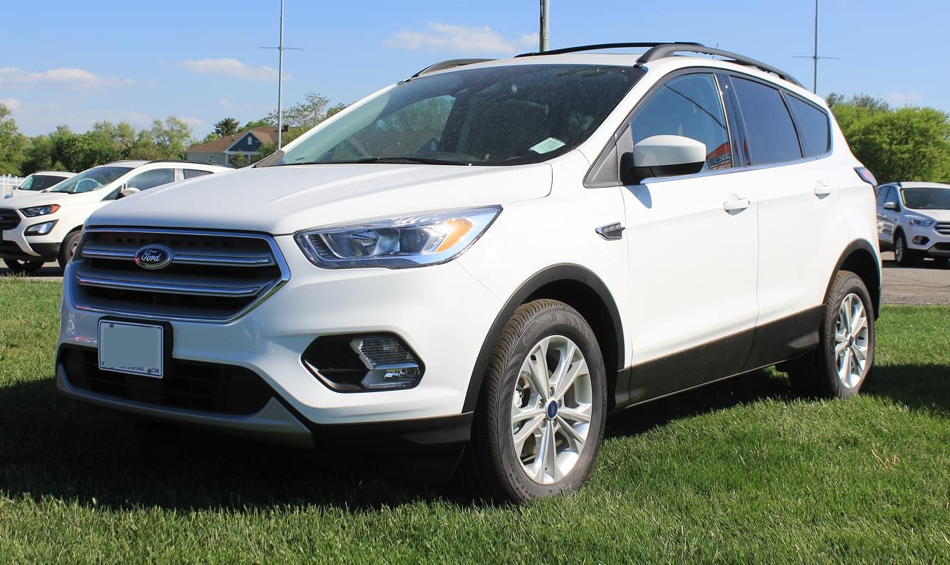 White Ford Escape >> 2018 Ford Escape White At Sheridan Ford Sheridan Ford