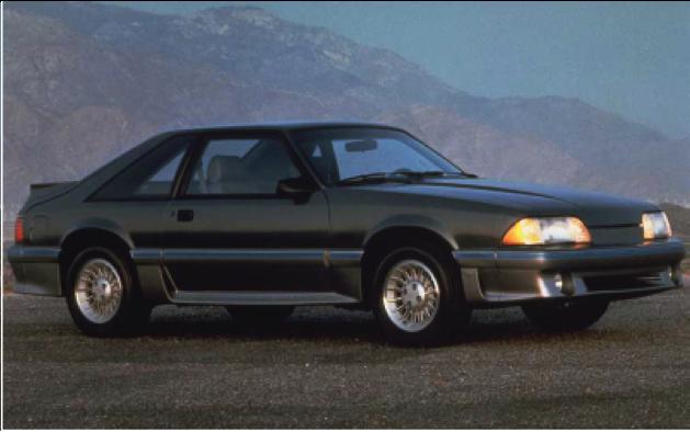 3rd Generation Mustang