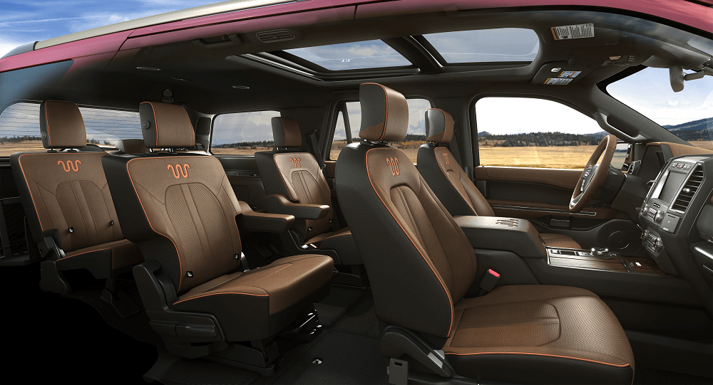 2020 Ford Expedition Interior Style
