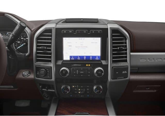Ford F-250 vs Chevrolet 2500 Technology Features