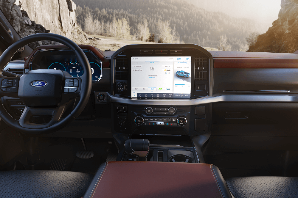 2021 Ford F-150 Technology Features
