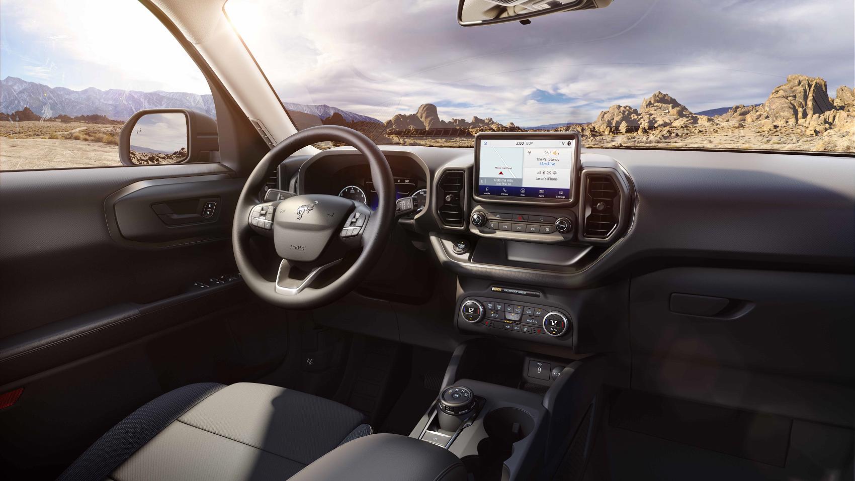 Ford Bronco Sport Interior