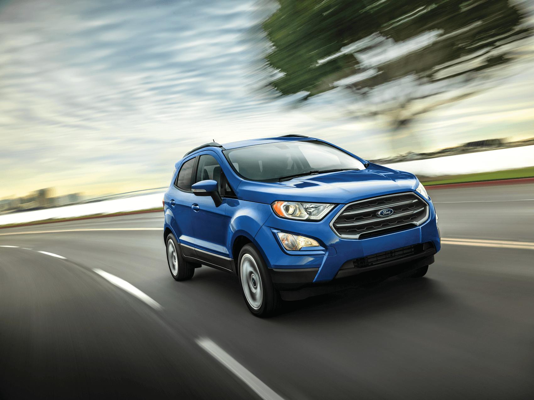Ford EcoSport Performance Specs