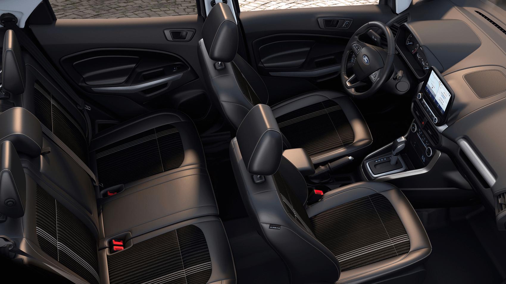 Ford EcoSport Interior Dimensions
