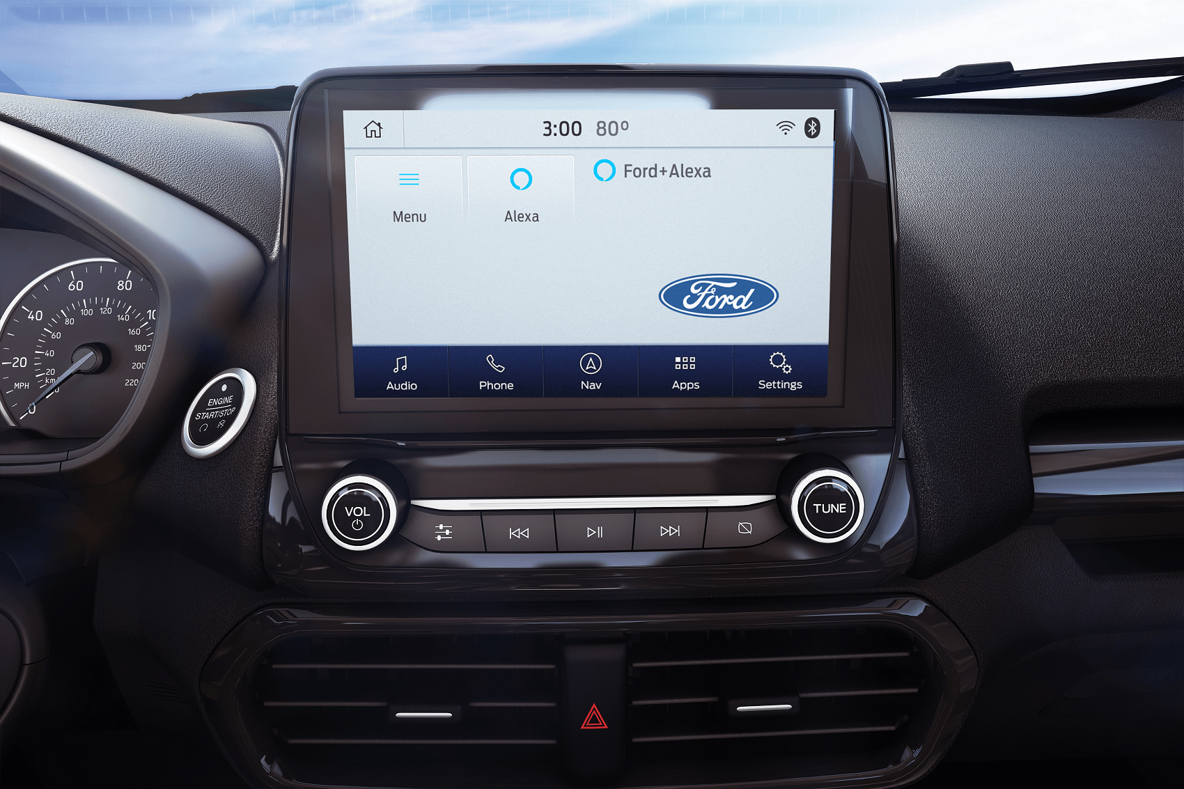 Ford EcoSport Technology Features