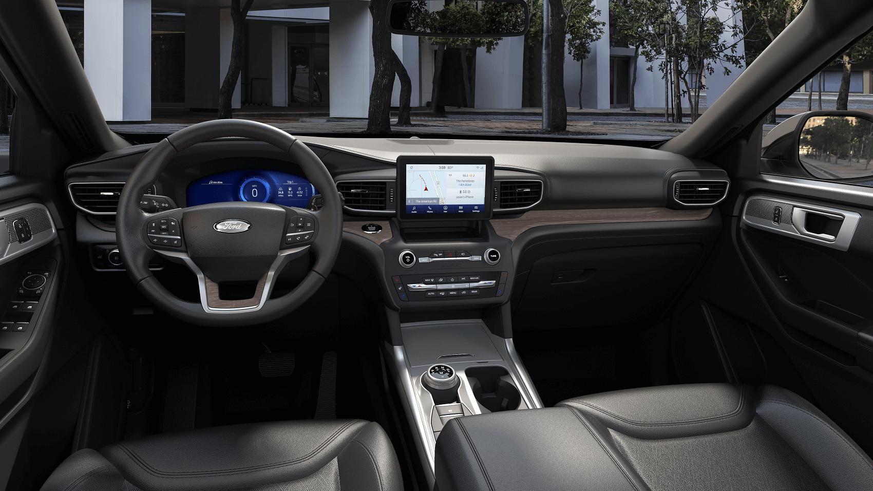 Ford Explorer Infotainment Technology