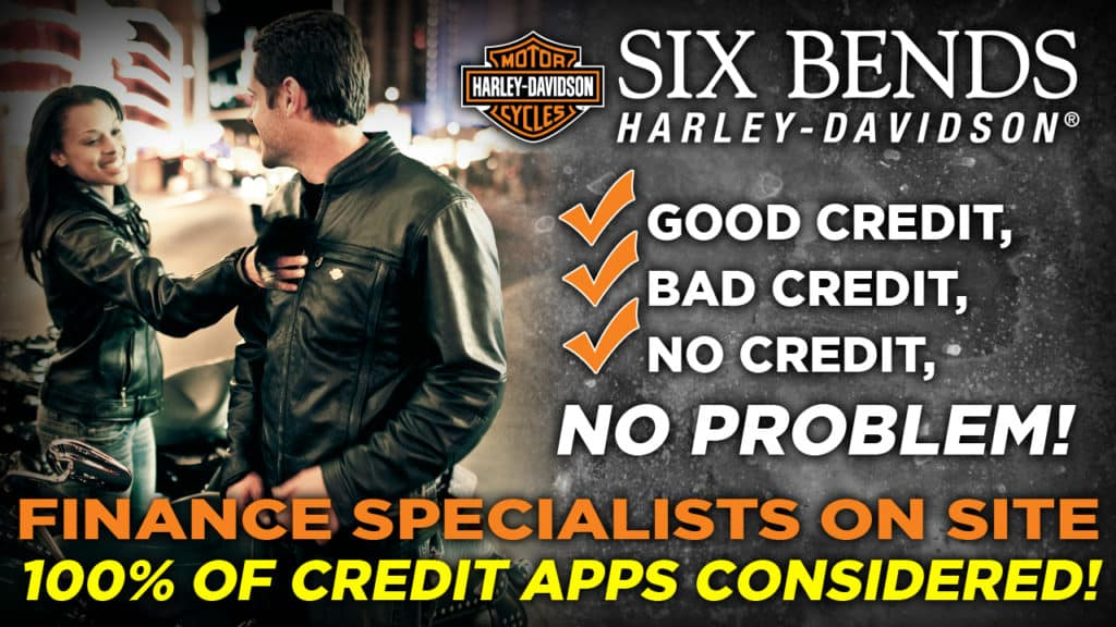 Second Chance Financing Six Bends Harley Davidson