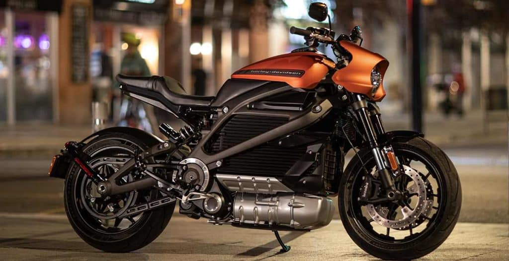 LiveWire Electric Harley Motorcycle