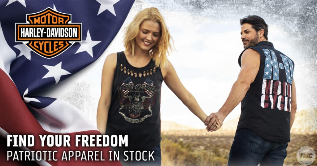 Patriotic Harley Apparel