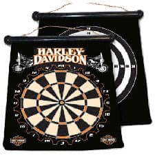 Harley Dart Board 66943 Dart World