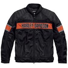 Harley Men's Trenton Mesh Jacket 98111-16VM