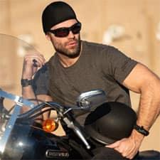 Skull Caps Soaker Series Hair Glove Motorcycle Gear