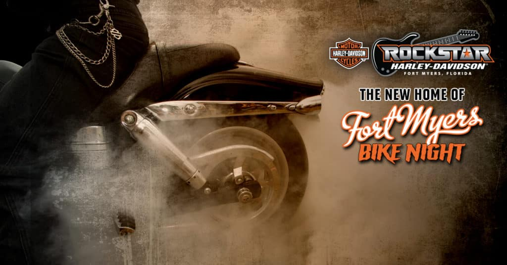 Fort Myers Bike Night at Rockstar Harley-Davidson