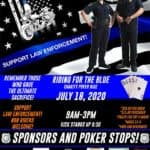 Ride for the Blue Charity Poker Run