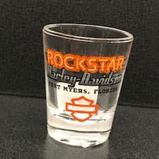 Rockstar Shot Glass