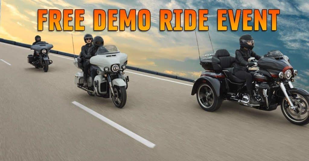 Free Demo Ride Event
