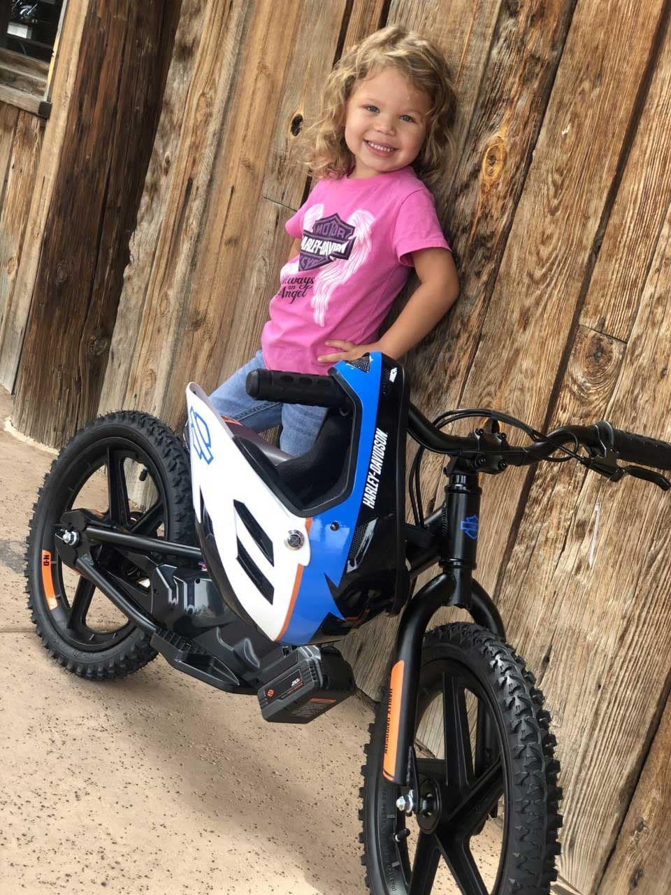 Harley Kids Clothing and Irone Kids Bike