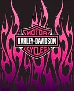 Harley Ladies Throw