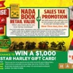 Sales Tax Promotion or Retail Trade