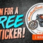 IFRD International Female Ride Day Sticker Giveaway