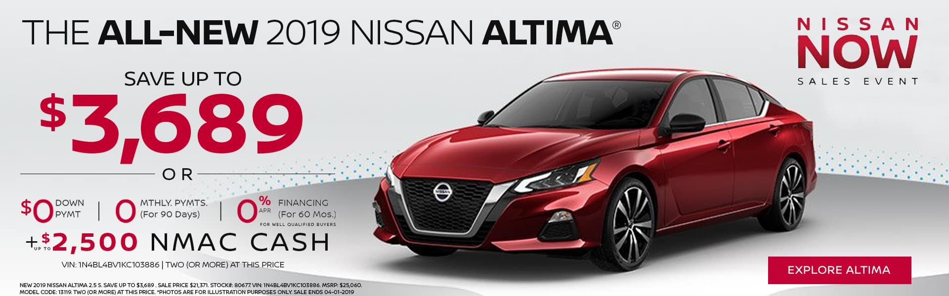 THE ALL-NEW 2019 NISSAN ALTIMA®