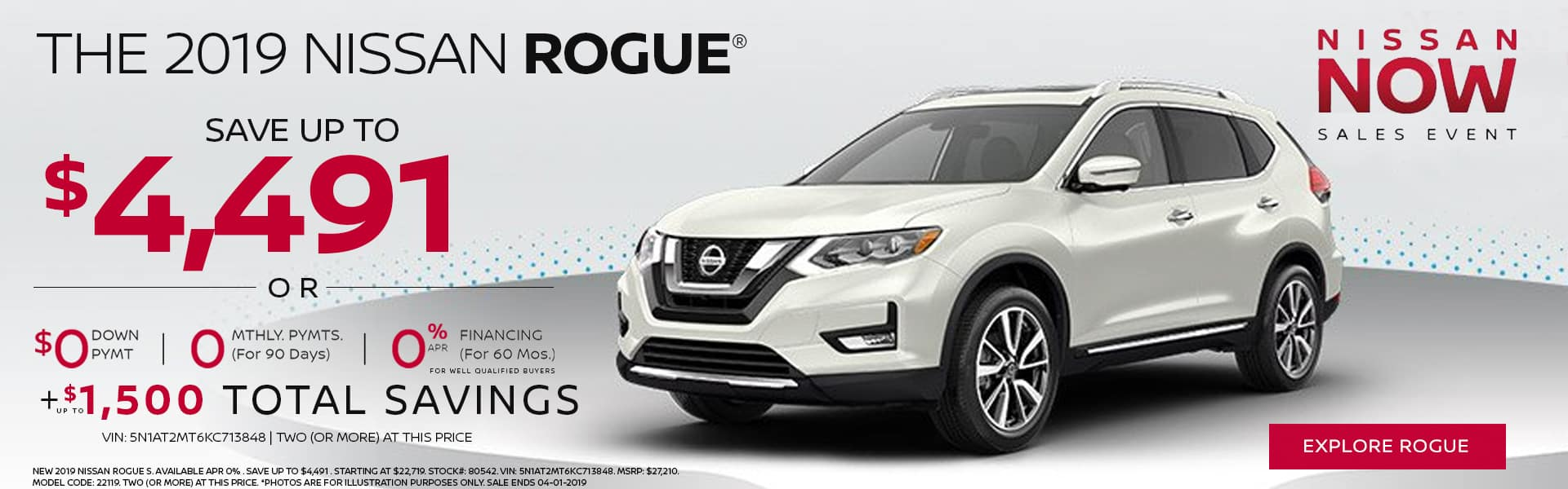 THE 2019 NISSAN ROGUE®