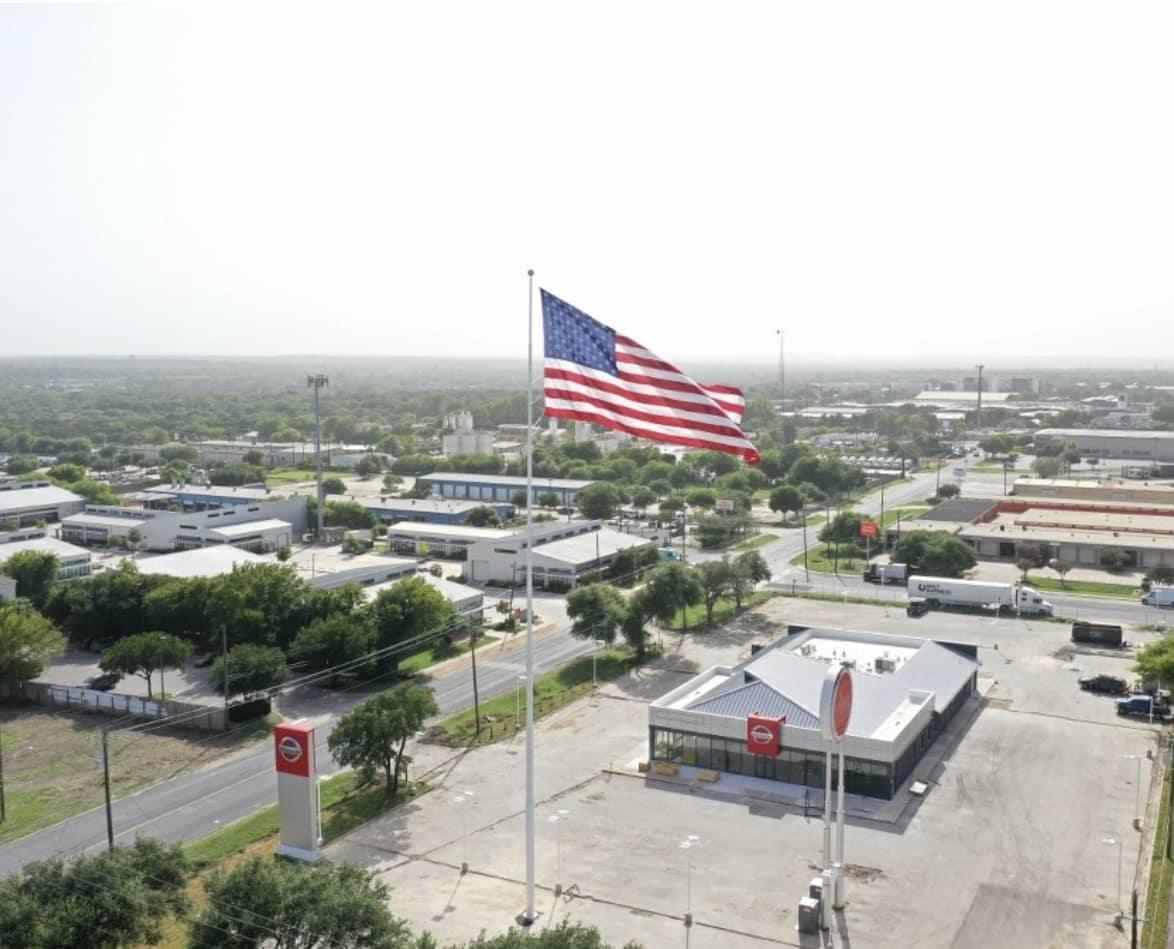 Overhead view of CPO facility