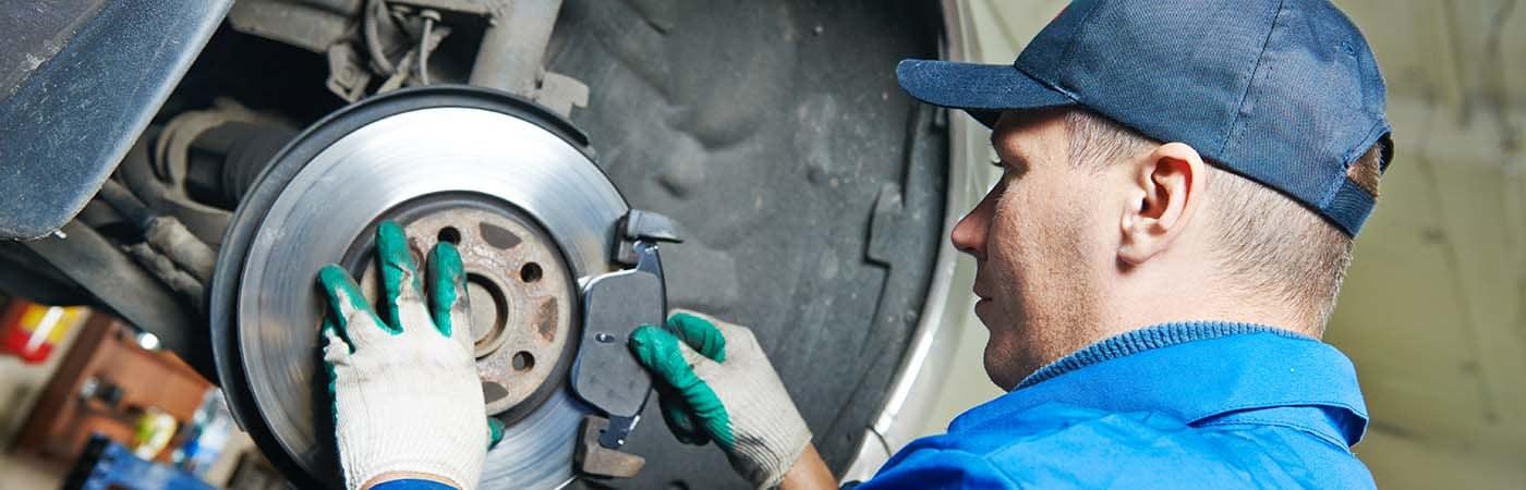 replacing brakes