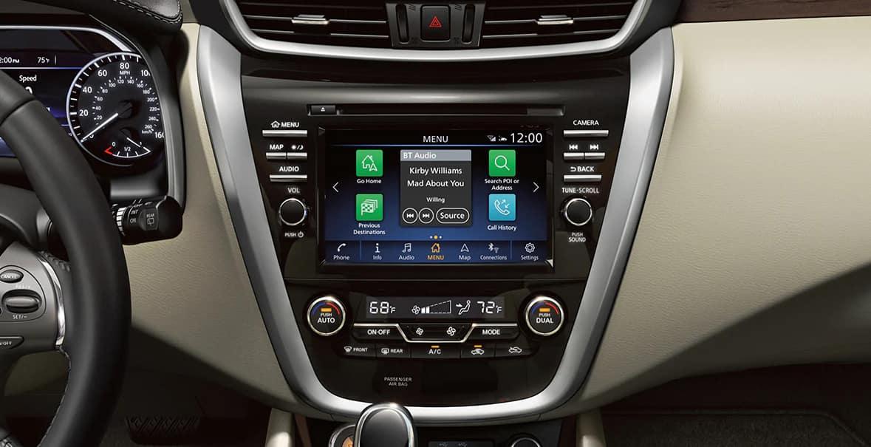 2021 Nissan Murano Console Controls