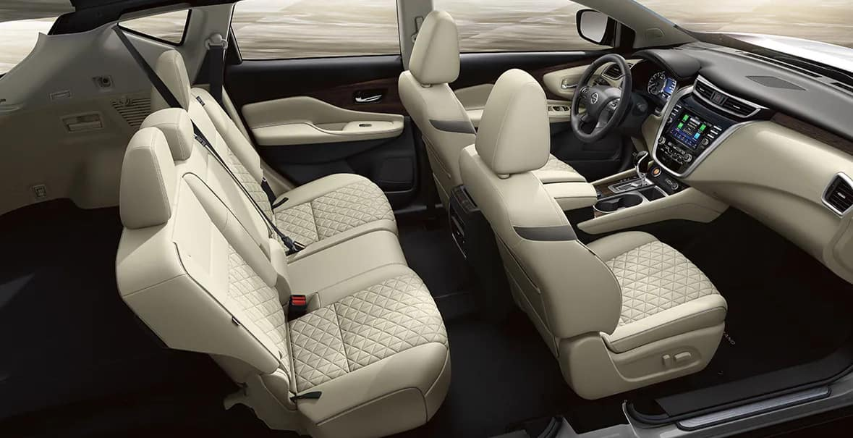 2021 Nissan Murano Semi Aniline Leather Seats